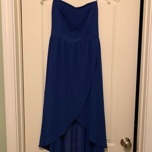 Royal blue dress